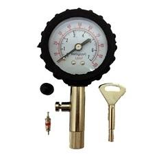 Манометр для измерения давления в шинах и герметики