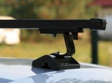 багажник муравей д-т с прямоугольными дугами для автомобилей без рейлингов с т профилем Volkswagen Transporter T-5 2003-2015