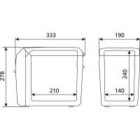 Автохолодильник Dometic TropiCool TC-07 - схема