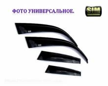 Дефлекторы боковых окон 4 ч темн Chevrolet Captiva 2012 - SIM