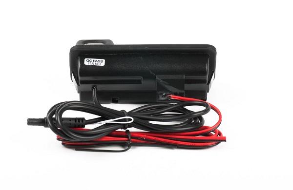 Камера заднего вида Blackview в ручку багажника IC-FM/LR (Mondeo (10-15)Freelander 2/Range Rover) с кнопкой парковочные линии/сенсор PC1089 - фото 5