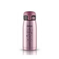 Кружка-термос из нержавеющей стали Travel Tumbler Bubble Safe Pink 0,35 литров