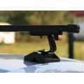 Багажник Муравей Д-Т с прям. дугами для авто без рейлингов с Т профилем Mitsubishi Pajero внедорожник 1996-…
