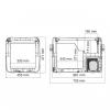 Автохолодильник Dometic CoolFreeze CFX-50 - схема