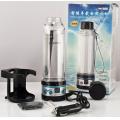Автомобильный термос с подогревом и кипячением (термопот) Aqua Work 009 черный - 0,28 литра