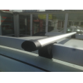 Багажник INTER с дугами 1,2м аэродинамическими для авто с рейлингами RENAULT DUSTER 2015-...