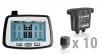Система контроля давления в шинах грузового автомобиля Carax CRX-1012/W10.1