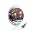 Галогенные лампы Philips H1 NightGuide 3-color safety (2шт.) 12258NGDLS2