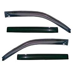 Дефлекторы боковых окон, капота и защиты фар на машину
