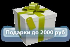 Подарки до 2000 руб
