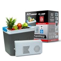 Холодильник автомобильный AVS CC-22NB 22л 12V