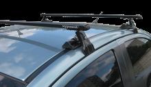 Багажник Муравей Д1 с прям. дугами для авто без рейлингов AUDI 200 седан 1983-1990