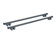 багажник cruz 118см (прямоугольный сталь) для автомобилей с рейлингами chevrolet trans sport (u) минивен 1996-...