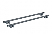 багажник cruz 118см (прямоугольный сталь) для автомобилей с рейлингами dacia duster кроссовер 2010-…