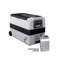 Компрессорный автохолодильник Alpicool T50 с аккумулятором