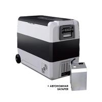 Компрессорный автохолодильник Alpicool T60 с аккумулятором