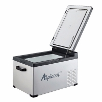 Автохолодильник Alpicool ABS-30 черный - крышка