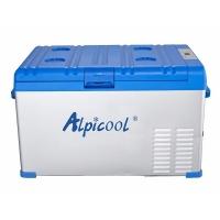 Компрессорный автохолодильник Alpicool ABS-30 синий