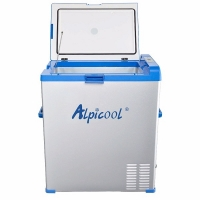 Alpicool ABS-75 - открытая крышка
