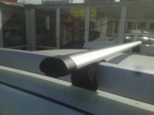 Багажник INTER с дугами 1,2м аэродинамическими для автомобилей с рейлингами RENAULT DUSTER 2015-...
