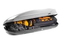Бокс на крышу автомобиля Koffer A440 - в открытом состоянии
