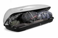 Koffer T600 (серый матовый) внутри