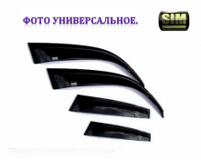 Дефлекторы боковых окон 4 ч темн Ford Explorer 2011- SIM