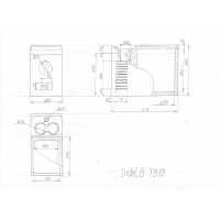 Автохолодильник Indel B TB 13 - схема