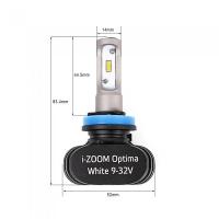 H11 Optima i-ZOOM WW 4200K, 9-32V