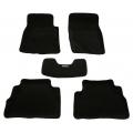 Коврики 3D в салон черные для Infiniti FXII 2008 - 2013; QX 70 2013 -