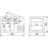 Автохолодильник Dometic CoolFreeze CF-35 - схема