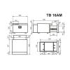 Встраиваемый компрессорный автохолодильник Indel B TB30AM DRAWER - схема