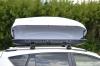 Бокс на крышу автомобиля Turino 1 двусторонний белый