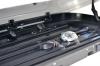 Бокс на крышу автомобиля Turino Compact двусторонний черный