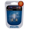 Лампы газонаполненные Philips T4W 12V (4W) 12929BV B2 (к-т)