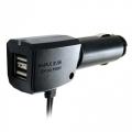 Разветвитель прикуривателя ST13-06 на 3 гнезда с двумя USB-портами