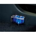Разветвитель прикуривателя с удлинителем FIZZ-968 на 2 гнезда с двумя USB
