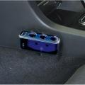 Разветвитель прикуривателя с удлинителем FIZZ-992 на 3 гнезда с двумя USB