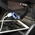 Разветвитель прикуривателя PZ-677 на 1 гнездо с двумя USB