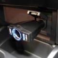 Разветвитель прикуривателя PZ-677 1 гнездо с двумя USB-портами