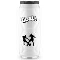 Кружка-термос из нержавеющей стали с вакуумной изоляцией Football can white 0,5 литра