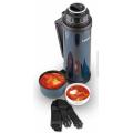 Термос для еды и напитков из нержавеющей стали серии Traditional steel 1,2 литра